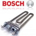 Тэн 2000вт BOSCH 202mm с отверстием под датчик. Тэн в стиральную машину Bosch