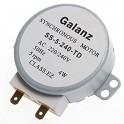 Моторчик вращения поддона тарелки в свч galanz ss-5-240-td
