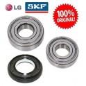 Подшипники LG. Ремонтный(сервисный) комплект подшипников в стиральную машину lg SKF Оригинал