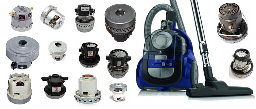 Купить Моторы, турбины, двигателя для пылесосов всех типов и размеров.