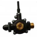 Водяной узел газовой колонки NEVA 4510М ,4511, 4513М, NEVA 4514, NEVA LUX 5514 с 2017 г.в. и BaltGaz Comfort 11. ПЛАСТИК