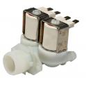 Клапан электромагнитный стиральной машины двойной на защелках 903428600011