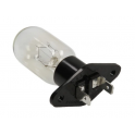 Лампочка в микроволновку T-170 25W прямые широкие контакты