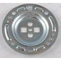 Фланец в водонагреватель 4 отверстия с доп. направляющими 65115359