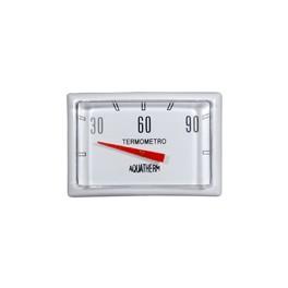 Термометр/градусник для водонагревателей прямоугольный