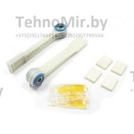 Ремкомплект амортизаторов 90N 8mm (прямоугольный пластиковый) для стиральной машины BOSCH