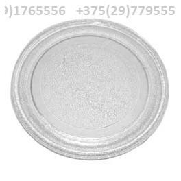 Тарелка для микроволновки LG, Vitek, Gorenje и других.  Диаметр 245 мм с гладким дном (без выступов).