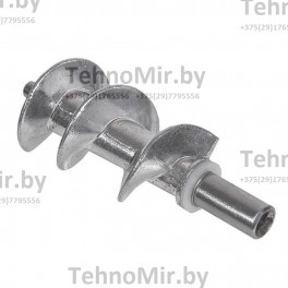 Шнек для мясорубки (MM04W07-JS), M01M150, длинна вала 119.7mm, шток 8.1mm