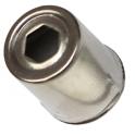 Колпачок металлический для магнетрона Samsung, Witol, Daewoo, Galanz, Горизонт.