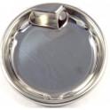 Чаша спиральной конфорки для плиты крепление по центру.