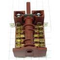 Переключатель в плиту 5 режимов короткий шток 850618