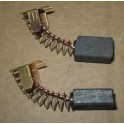Электроугольная щетка ИНТЕРСКОЛ 7х11х17 Поводок пружина пятак (ЛШМ 100/1200)