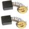 Электроугольная щетка 7х17х17 Пружина, пятак-уши (для Интерскол УШМ-2000Wt,ДП-2000Wt)
