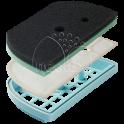 Набор фильтров для пылесоса LG ADQ73393603/flg69