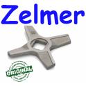 Нож двухсторонний 8 , для мясорубки Zelmer (ОРИГИНАЛ) квадрат 10мм